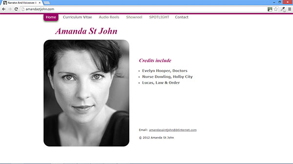 Amanda St John website